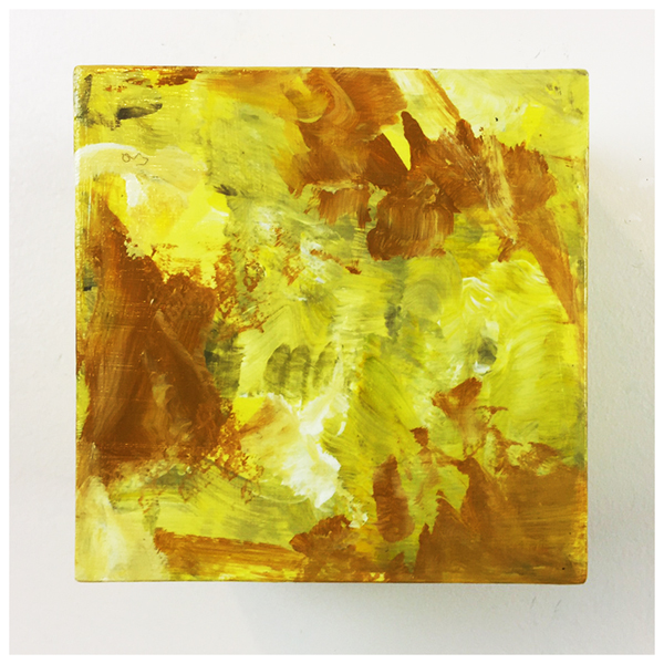 Out-of-the-Box No. 38, Original acrylic abstract painting by artist Eric Soller