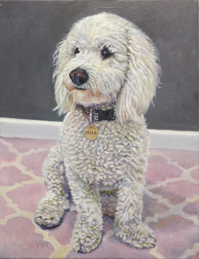 Callie, Original oil painting by the fine artist Eric Soller