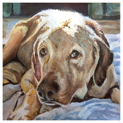 Callie, Original oil painting by artist Eric Soller